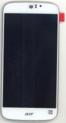 Сенсорное стекло + экран Acer Jade Z S57 White