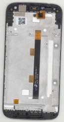 Сенсорное стекло + экран для Acer Liquid Z630S Black+Gold