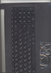 Клавиатура 925008-251 с корпусом для ноутбука HP Pavilion