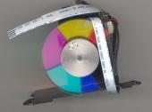 Цветовое колесо для проектора Acer P1185, P1285, M313, AX326, P1285B