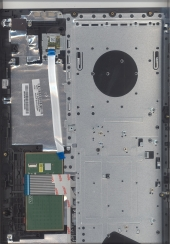 Клавиатура 5CB0M31708 с корпусом для ноутбука Lenovo IdeaPad V510