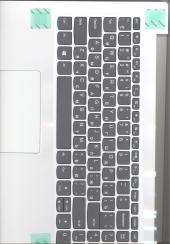 Клавиатура 5CB0N86584 с корпусом для ноутбука Lenovo IdeaPad 320