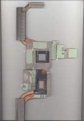 Система охлаждения 5H40R40202 для Lenovo Y530