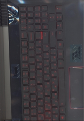 Клавиатура 5CB0P24397 с корпусом для ноутбука Lenovo Legion Y520