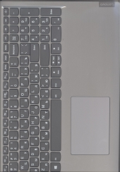 Клавиатура 5CB0X55982 с корпусом для ноутбука Lenovo IdeaPad L3-15IML05