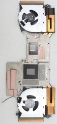 Система охлаждения 5H40S20303 для Lenovo 5-15ACH