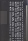Клавиатура 5CB0S16618 с корпусом для ноутбука Lenovo IdeaPad L340